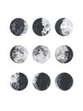 Moon Phases Watercolor I Poster av Samantha Ranlet