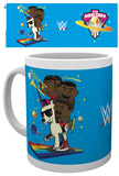 WWE - New Day Cartoon Mug Taza