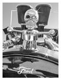 Skull and Horses Posters par Murray Bolesta