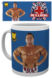 WWE - British Bulldog Mug Taza