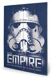 Star Wars Rebels - Enlist Wood Sign Treskilt