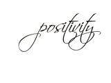 Positivity Poster di Pop Monica