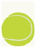 Tennis Ball Affiche par Jorey Hurley