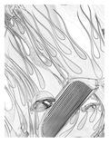 White Hot Rod Prints by Murray Bolesta