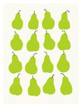 Pears Print by Jorey Hurley