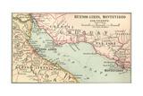 Plate 124. Inset Map of Buenos Aires Lámina giclée por  Encyclopaedia Britannica