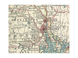 Map of Providence (C. 1900), Maps Giclee Print by  Encyclopaedia Britannica