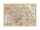 Plate 7. Map of England. Section II. Yorkshire Gicléedruk van  Encyclopaedia Britannica