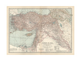Plate 38 Map of Turkey in Asia Asia Minor (Anatolia)