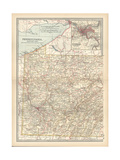 Plate 74. Map of Pennsylvania Gicléedruk van  Encyclopaedia Britannica