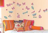 Papillons magiques Decalcomania da muro