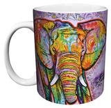 Dean Russo - Elephant Mug Caneca