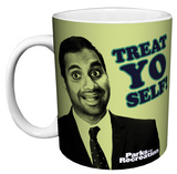Parks And Recreation - Treat Yo Self Mug Mug
