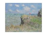 Cliff Walk at Pourville, 1882 Giclée-Druck von Claude Monet