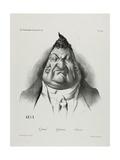 The Past, the Present, the Future, Plate 349, 1834 Reproduction procédé giclée par Honore Daumier