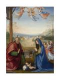 The Nativity, 1504-07 Giclée-tryk af Fra Bartolommeo