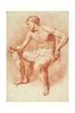 Study of a Male Nude Giclée-Druck von Adriaen van de Velde
