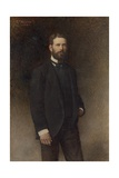 Portrait of Henry Field, 1896 Giclée-vedos tekijänä Leon Joseph Florentin Bonnat