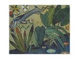 The Leap of the Rabbit, 1911 Giclée-tryk af Amadeu de Souza-Cardoso