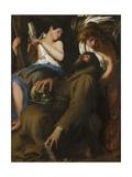 The Ecstasy of Saint Francis, 1601 Giclée-vedos tekijänä Giovanni Baglione