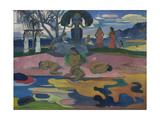 Day of the God (Mahana No Atua) 1894 Giclee Print by Paul Gauguin