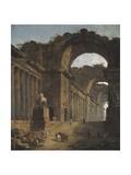 The Fountains, 1787-88 Reproduction procédé giclée par Hubert Robert