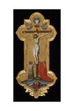 Processional Cross, 1392-95 Giclée-tryk af Lorenzo Monaco