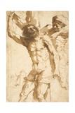 Study for the Martyrdom of Saint Bartholomew, 1635-36 Lámina giclée por  Guercino