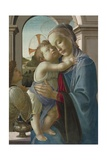 Virgin and Child with an Angel, 1475-85 Reproduction procédé giclée par Sandro Botticelli