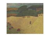The Beach of Les Grands Sables at Le Pouldu, 1890 Gicléetryck av Paul Serusier