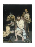 Jesus Mocked by the Soldiers, 1865 Giclee Print by Edouard Manet