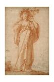 The Cuman Sibyl, C.1630 Giclée-Druck von Claude Vignon