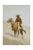A Mexican Vaquero, 1890 Giclee Print by Frederic Remington