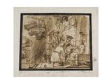 Joseph's Brothers Showing His Coat to Jacob, 1640S Giclée-Druck von Jan Victors