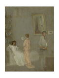 The Artist in His Studio, 1865-66 Giclée-tryk af James Abbott McNeill Whistler