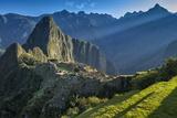 South America, Peru, Urubamba Province, Machu Picchu, UNESCO World Heritage Site Photographic Print by Christian Heeb