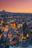 Sunset View over Goreme, Cappadocia, Turkey Photographic Print by Stefano Politi Markovina