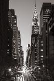 Chrysler Building, Midtown Manhattan, New York City, New York, USA Fotografisk tryk af Jon Arnold