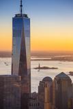 One World Trade Center, Lower Manhattan, New York City, New York, USA Reproduction photographique par Jon Arnold