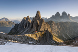 The 'Cadini Di Misurina' Peaks are Shot as the Sun Is Rising in the Dolomites Impressão fotográfica por  ClickAlps