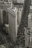 Usa, New York, Manhattan, Midtown, the Flatiron Building Fotografie-Druck von Alan Copson