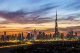 United Arab Emirates, Dubai Fotografie-Druck von Gavin Hellier