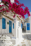 Europe, Greece, Cyklades, Mykonos, Part of the Cyclades Island Group in the Aegean Sea Photographic Print by Christian Heeb