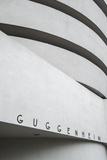 Guggenheim Museum, 5th Avenue, Manhattan, New York City, New York, USA Fotografisk trykk av Jon Arnold