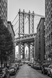 Usa, New York, Brooklyn, Dumbo, Manhattan Bridge Fotografie-Druck von Alan Copson
