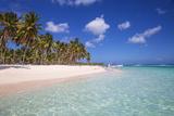 Dominican Republic, Punta Cana, Parque Nacional Del Este, Saona Island, Canto De La Playa Photographic Print by Jane Sweeney
