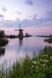 Kinderdijk,Molenwaard - Holland Impressão fotográfica por  ClickAlps