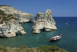 Kleftiko, Milos, Cyclades, Greece Photographic Print by Katja Kreder