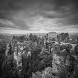Bastei Bridge, Bastei, Saxon Switzerland National Park, Saxony, Germany Photographic Print by Jon Arnold