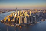 One World Trade Center and Lower Manhattan, New York City, New York, USA Fotografisk trykk av Jon Arnold